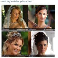 Gelin Saç Modelleri gelinsac.com